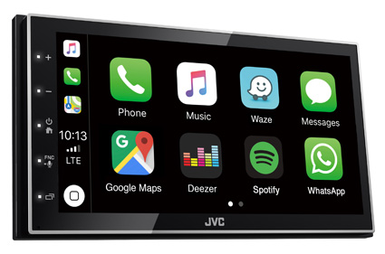 JVC CarPlay Android Auto features